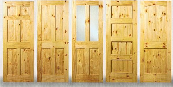 pine wood door singapore