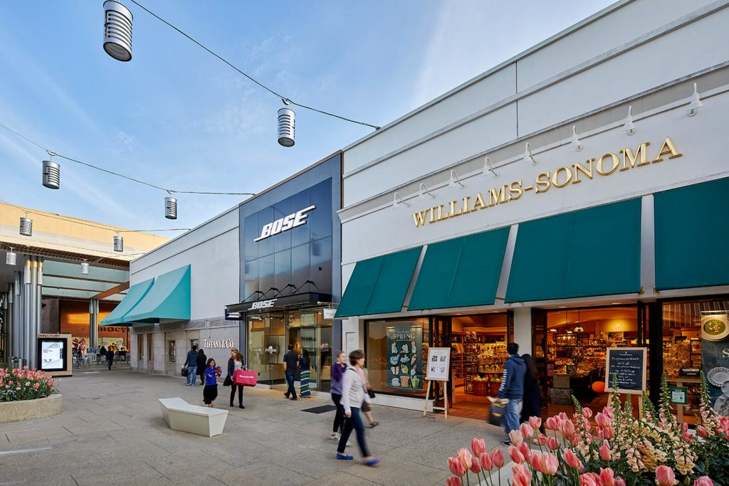 Shopping Center advertising campaign